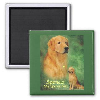 Golden Spencer Magnet