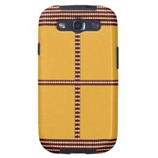 GOLDEN Squares - Windows of Opportunity Samsung Galaxy S3 Case