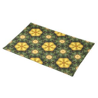 Golden Star Garden Placemat