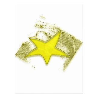 Golden Star Postcard