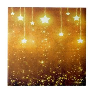 Golden Stars Tile
