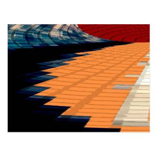 Golden Steps - Magic Piono Rythem Postcard
