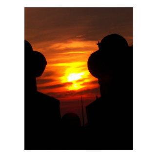 Golden Sun Postcard