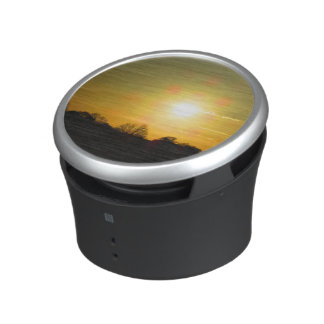 Golden sunset bluetooth speaker