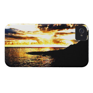 Golden Sunset Over the Water in Dominica Case-Mate iPhone 4 Cases