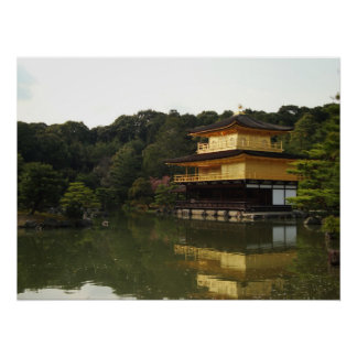 Golden Temple - Kyoto, Japan Poster