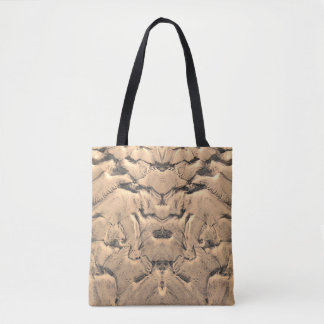 Golden Tidal Sands Tote Bag