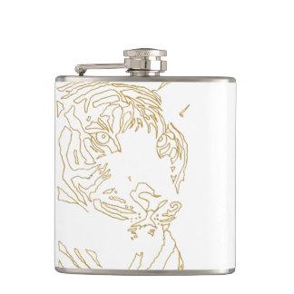 Golden Tiger Flask