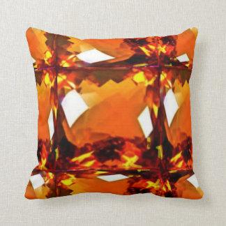 Golden Topaz Faux Gemstone Pillows By Sharles