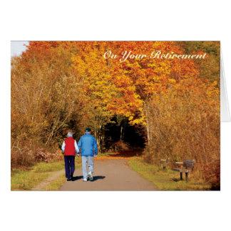 Golden Trees Retirement card