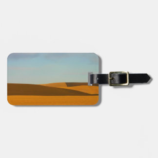 Golden Wheat Fields in Palouse Region Luggage Tag