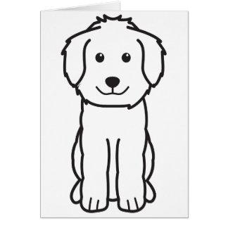 Goldendoodle Dog Cartoon Card