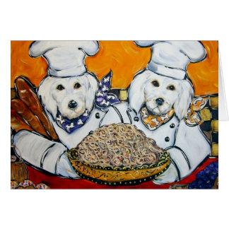 Goldendoodles Card