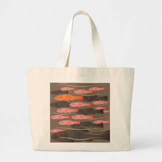 Goldfish Jumbo Tote Bag