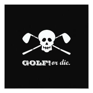 Golf 70th Birthday - Still Swinging! Card