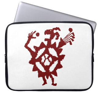 Golf Ball Eater Petroglyph Laptop Sleeve