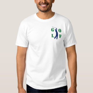 Golf Embroidered T-Shirt