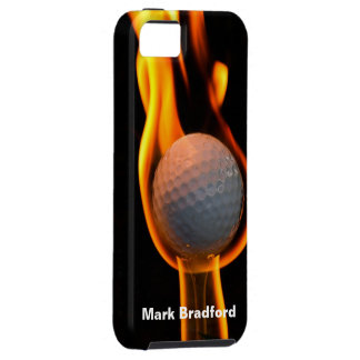 Golf on Fire IPHONE-5 Case