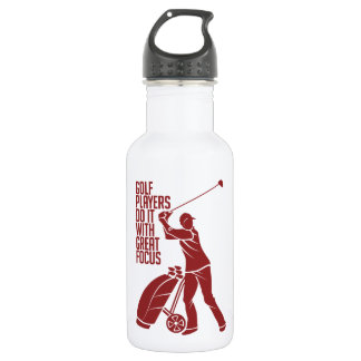 GOLF PLAYER - choose style & color 532 Ml Water Bottle
