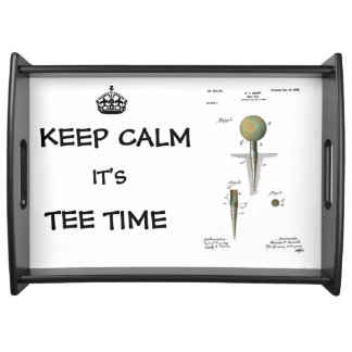GOLF TEE PATENT - Serving Tray