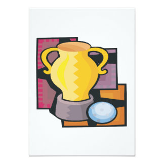 Golf Trophy Card
