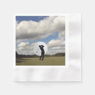 Golf World Paper Serviettes