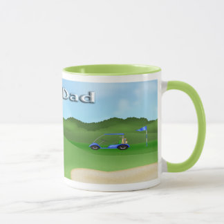 Golfing Father's Day Mugs