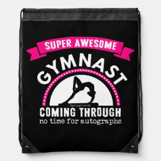 Golly Girls - Super Awesome Gymnast Coming Through Drawstring Bag