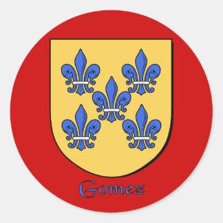 Gomez Family Shield Stickers