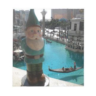 Gondola Gnome I Notepad