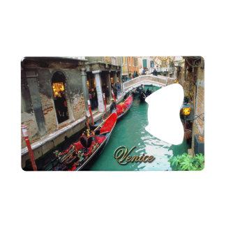 Gondolas on a Venetian canal