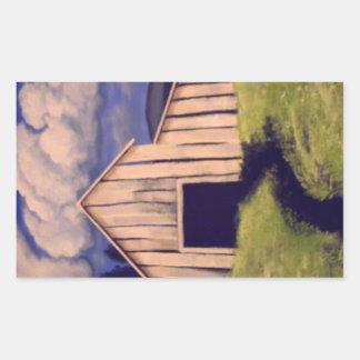 """""""Gone but not forgotten"""" by Linda Powell~Sticker Rectangular Sticker"""