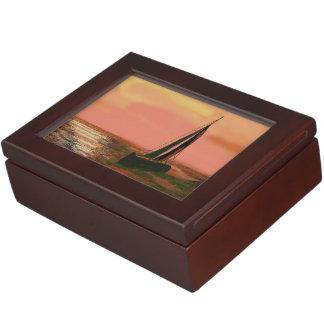 Gone Sailing Keepsake Box