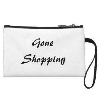 Gone Shopping Wristlet