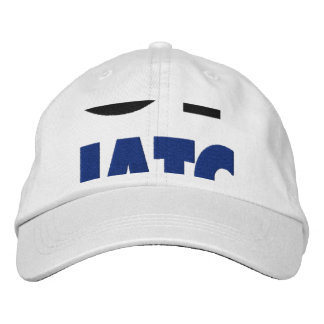 Gone Squatchin Bigfoot Hiding In Woods Embroidered Hat