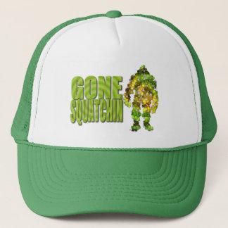 Gone Squatchin: Bobo will never find Bigfoot Trucker Hat
