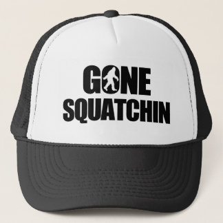 Gone Squatchin Trucker Hat