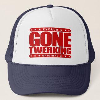 GONE TWERKING - Viral Twerker, Famous Booty Shaker Trucker Hat