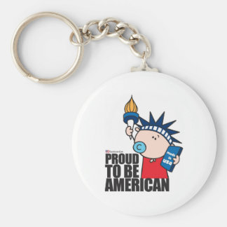 GoochiCoo - Proud To Be American Key Ring