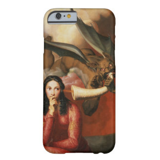 Good and Evil: the Devil Tempting a Young Woman, 1 Barely There iPhone 6 Case