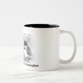 GOOD COFFEE, CONVERSATION: MUG