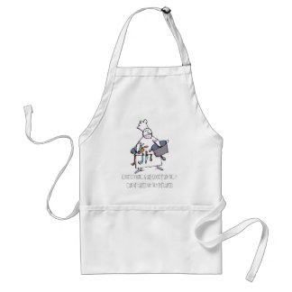 Good cooking is like good painting standard apron