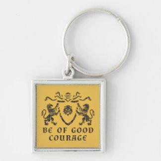 Good Courage Blazon Keychain