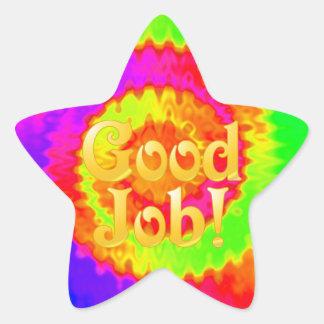 Good Job Star Stickers