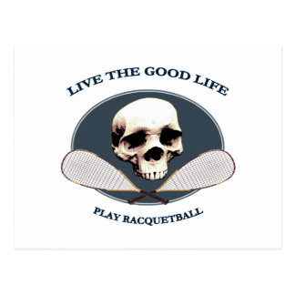 Good Life Racquetball Postcard