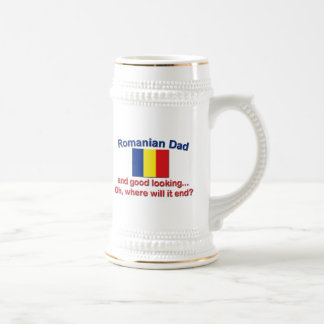 Good Lkg Romanian Dad Beer Stein