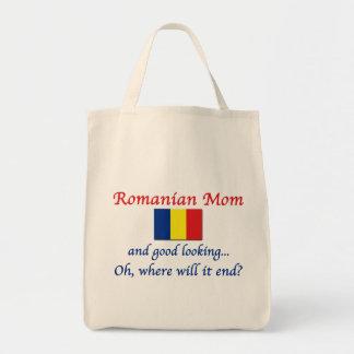 Good Lkg Romanian Mom Tote Bag