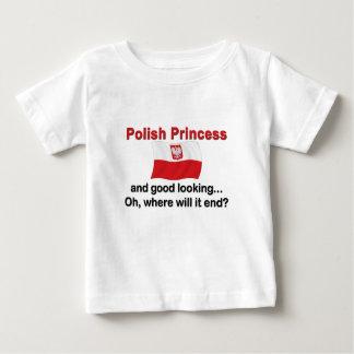 Good Looking Polish Princess Baby T-Shirt