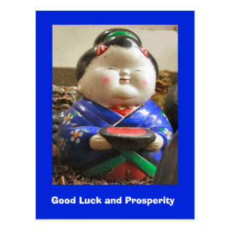 Good Luck and Prosperity, Matchmakers Postcard