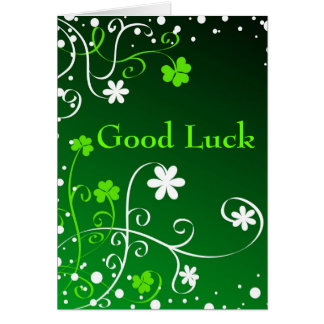 Good Luck - Card